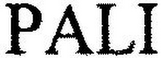 mark for PALI, trademark #79086810