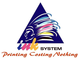 mark for INK SYSTEM PRINTING COSTING NOTHING, trademark #79087215