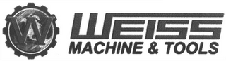 mark for W WEISS MACHINE & TOOLS, trademark #79088264