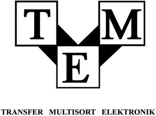 mark for TME TRANSFER MULTISORT ELEKTRONIK, trademark #79088377