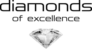 mark for DIAMONDS OF EXCELLENCE, trademark #79089847