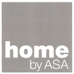 mark for HOME BY ASA, trademark #79089982
