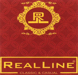 mark for RLL REALLINE CLASSIC & CASUAL, trademark #79090952