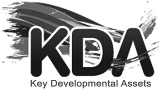 mark for KDA KEY DEVELOPMENTAL ASSETS, trademark #79092456