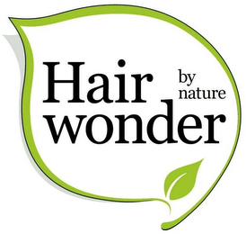 mark for HAIR WONDER BY NATURE, trademark #79092491
