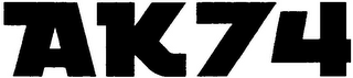 mark for AK74, trademark #79093489
