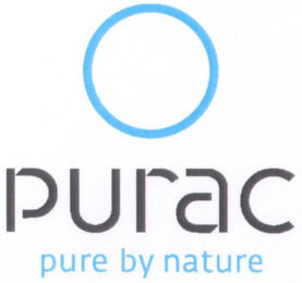 mark for PURAC PURE BY NATURE, trademark #79093863