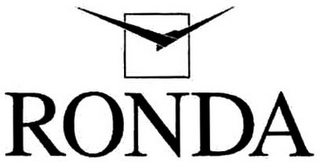mark for RONDA, trademark #79094705