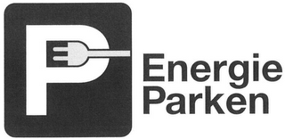 mark for P ENERGIE PARKEN, trademark #79095456