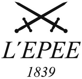 mark for L'EPEE 1839, trademark #79095782
