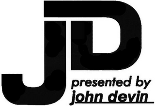 mark for JD PRESENTED BY JOHN DEVIN, trademark #79096072
