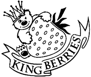 mark for KING BERRIES, trademark #79096190