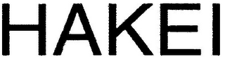 mark for HAKEI, trademark #79096455