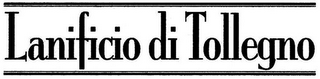 mark for LANIFICIO DI TOLLEGNO, trademark #79097142