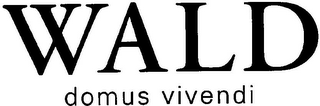mark for WALD DOMUS VIVENDI, trademark #79098214