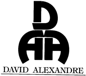 mark for DAA DAVID ALEXANDRE, trademark #79098865