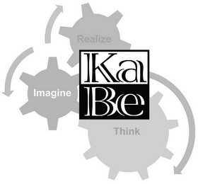 mark for KABE REALIZE IMAGINE THINK, trademark #79099950