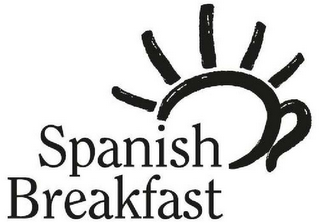 mark for SPANISH BREAKFAST, trademark #79100367