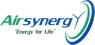 mark for AIRSYNERGY ENERGY FOR LIFE, trademark #79100423