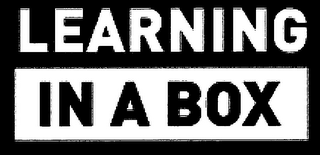 mark for LEARNING IN A BOX, trademark #79101505