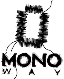 mark for MONO WAY, trademark #79101702