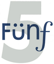 mark for 5 FÜNF, trademark #79101857