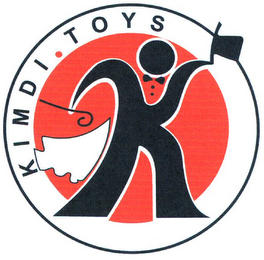 mark for K KIMDI TOYS, trademark #79103224