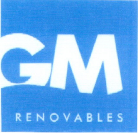 mark for GM RENOVABLES, trademark #79104230