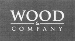 mark for WOOD & C O M P A N Y, trademark #79104246