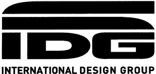 mark for IDG INTERNATIONAL DESIGN GROUP, trademark #79104502