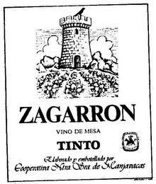 mark for ZAGARRON VINO DE MESA TINTO, trademark #79104819