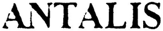 mark for ANTALIS, trademark #79105047