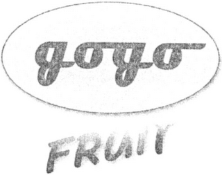 mark for GOGO FRUIT, trademark #79105071