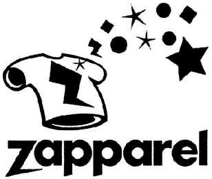 mark for Z Z ZAPPAREL, trademark #79105296