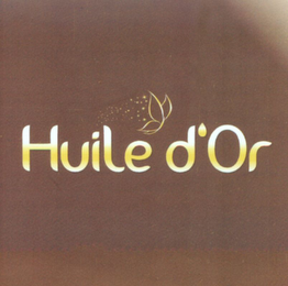 mark for HUILE D'OR, trademark #79105734