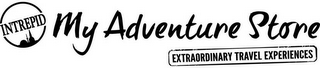 mark for INTREPID MY ADVENTURE STORE EXTRAORDINARY TRAVEL EXPERIENCES, trademark #79105751