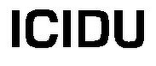 mark for ICIDU, trademark #79105858