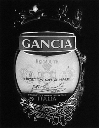 mark for GANCIA VERMOUTH RICETTA ORIGINALE F.LLI GANCIA, trademark #79106017