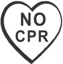 mark for NO CPR, trademark #79106241