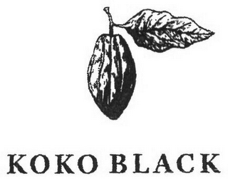 mark for KOKO BLACK, trademark #79106400