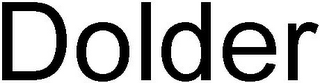 mark for DOLDER, trademark #79106471