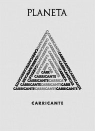 mark for PLANETA CARRICANTE, trademark #79107743