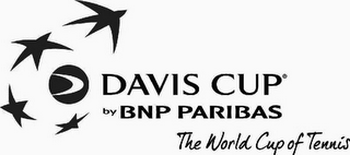 mark for DAVIS CUP BY BNP PARIBAS THE WORLD CUP OF TENNIS, trademark #79108342
