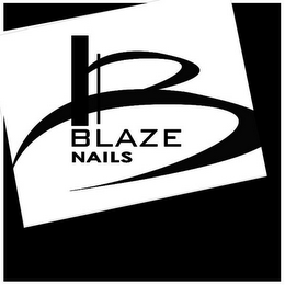 mark for B BLAZE NAILS, trademark #79108496