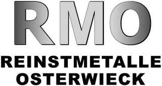 mark for RMO REINSTMETALLE OSTERWIECK, trademark #79109006