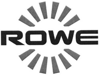 mark for ROWE, trademark #79109215