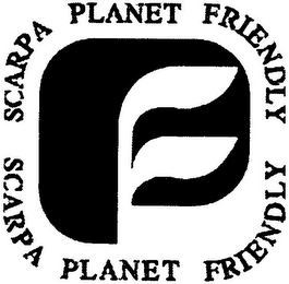 mark for SCARPA PLANET FRIENDLY SCARPA PLANET FRIENDLY, trademark #79110243
