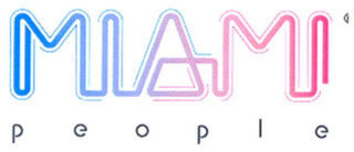 mark for MIAMI P E O P L E, trademark #79110350