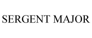 mark for SERGENT MAJOR, trademark #79110370