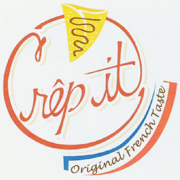 mark for CRÊP'IT ORIGINAL FRENCH TASTE, trademark #79110520